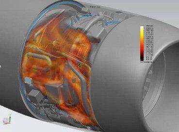 Analyse thermique en combustion avec FloEFD