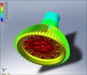 Simulation CFD - éclairage LED
