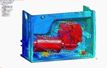 Tight CAD Integrated FloEFD Simulation