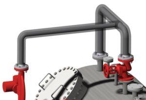 piping design, tuyauteries de section circulaires