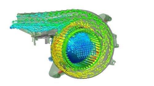 Simulation HVAC - Calcul du débit d'une pompe