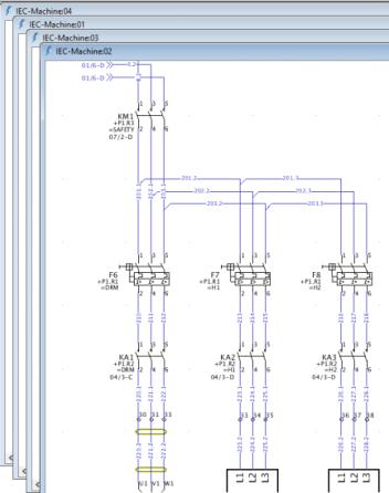 Simplification des schémas électriques