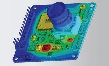Electronics cooling - Simulation thermique de composants électroniques