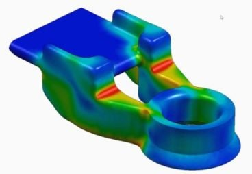 Generative Design est un processus d'optimisation topologique qui permet de concevoir des pièces plus légères et plus rigides