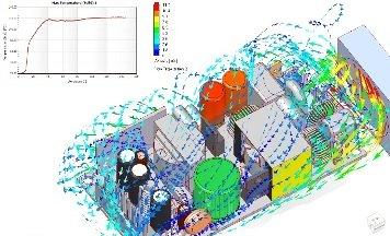 Simulation thermique d'une carte électronique, FloEFD