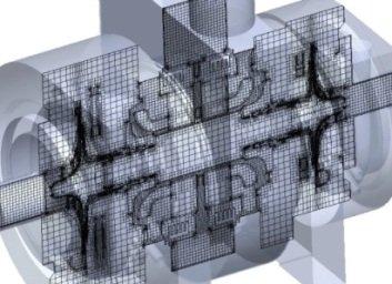 Maillage FloEFD basé sur la technologie SmartCells