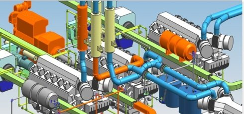 Piping Design est un logiciel de tuyauterie industrielle