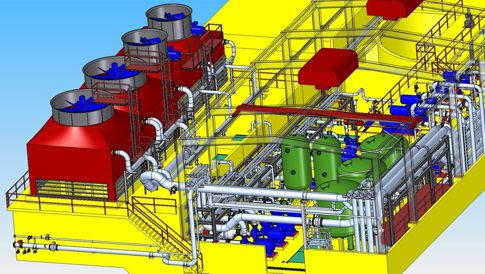 Logiciel Tuyauterie, Piping Design, Reference Primetals