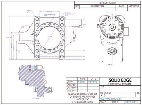 Solid Edge 2D Drafting, Logiciel de dessin technique gratuit