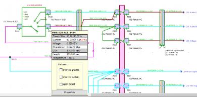 Wiring Design - Mode d'analyse numérique
